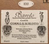 """Barolo """"Cannubi"""" 2013"""