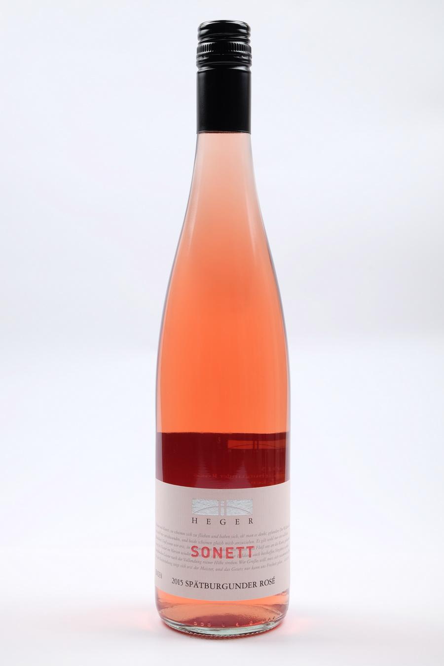 """Spätburgunder trocken Rosé """"Sonett"""" 2015"""