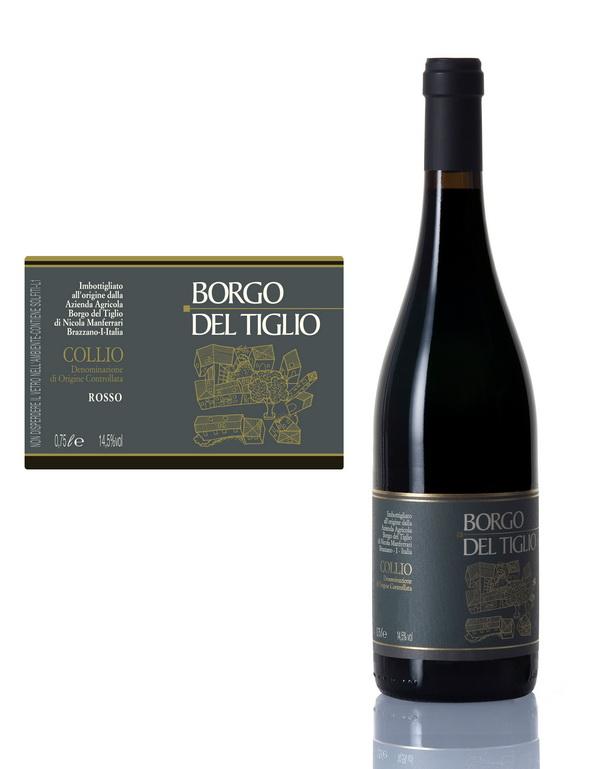 """Collio Rosso """"Selezione"""" 2012 (Merlot, Cabernet Sauvignon)"""