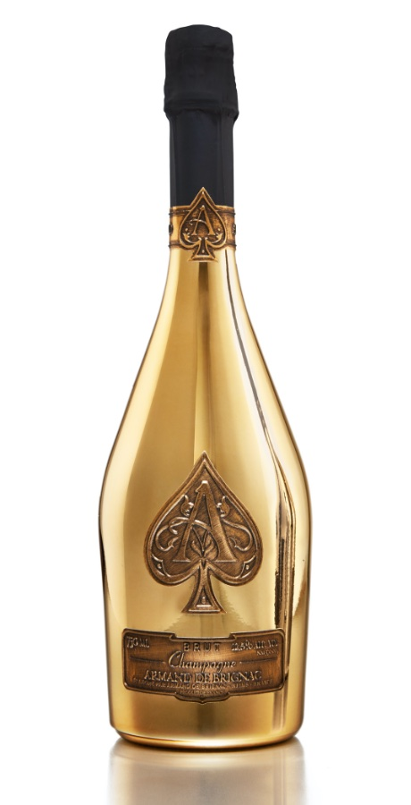 """Ace of Spades"" Brut Gold (Velvet Bag)"