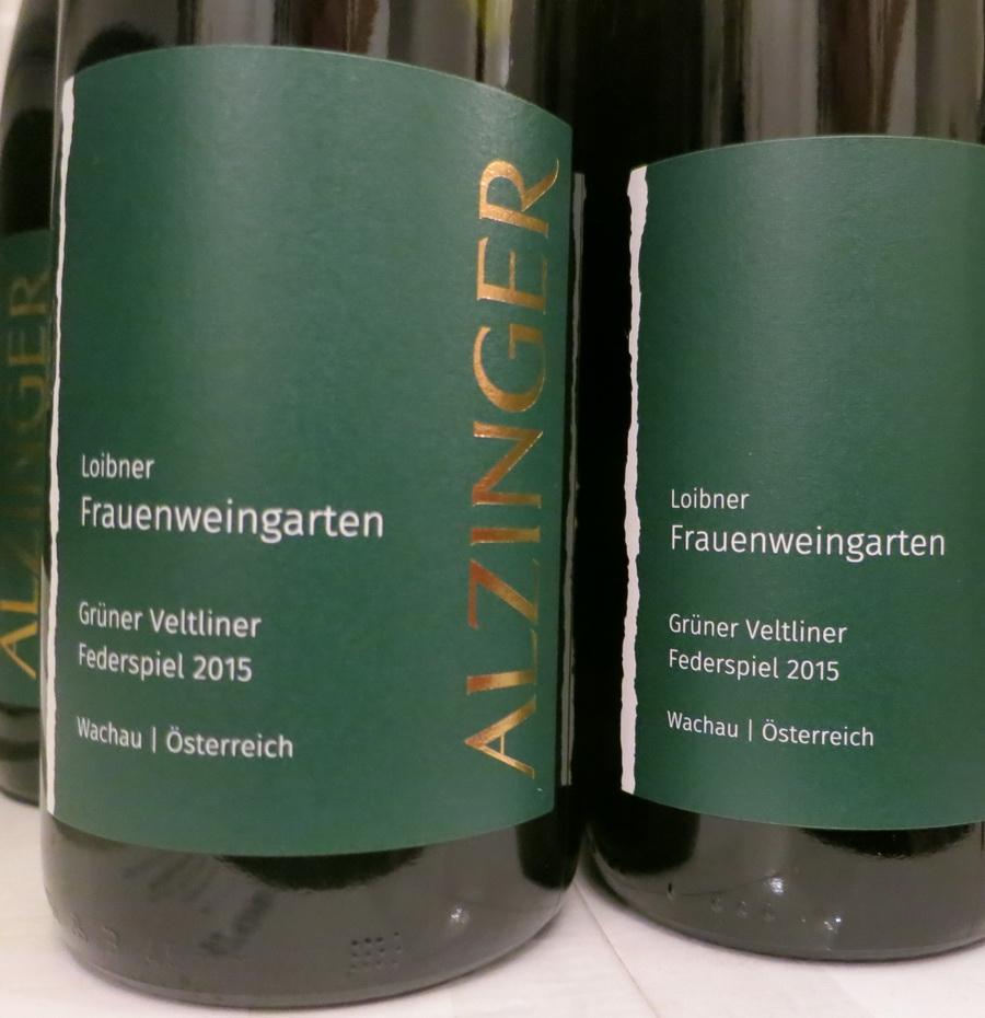 """Grüner Veltliner Federspiel """"Frauenweingarten"""" 2015"""